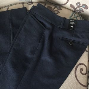 NWT The Limited navy pencil pant size 4